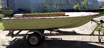 размеры прицепов для лодок южанка